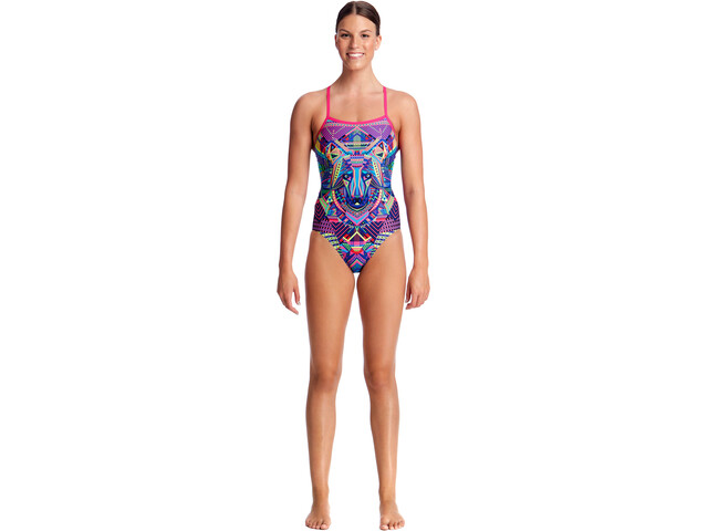 Funkita Single Strap One Piece Svømmedragt Damer farverig | swim_clothes